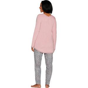 Cuddl Duds Intimates & Sleepwear - Cuddl Duds Fleecewear Stretch Novelty Pajama Set